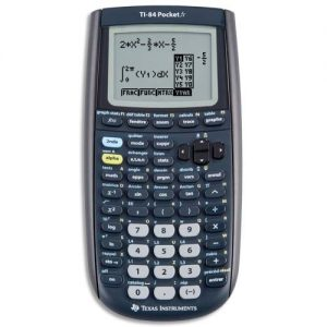 Texas-Instruments-TI84POCKET-Calculatrice-graphique-Noir-0