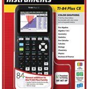 Texas-Instruments-TI-84-Plus-Calculatrice-graphique-Marquage-CE-noir-0