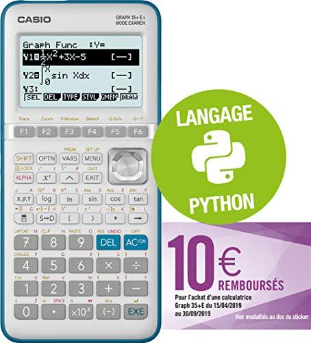 Casio-Graph35E-II-Calculatrice-Graphique-Python-0