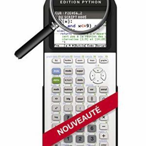 Texas-Instruments-83PREPTBL1E2-TI-83-Premium-CE-Edition-Python-Calculatrice-Graphique-Mode-Examen-0