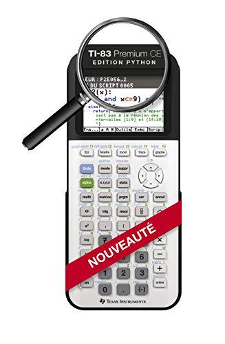 Texas-Instruments-83PREPTBL1E2-TI-83-Premium-CE-Edition-Python-Calculatrice-Graphique-Mode-Examen-0
