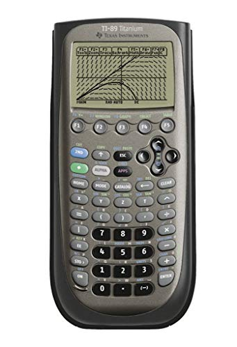 Texas-Instruments-TI-89-Titanium-Calculatrice-graphique-noir-0