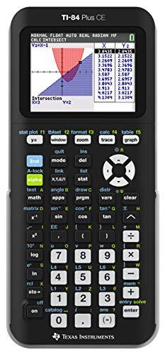 Texas-Instruments-TI-84-Plus-CE-Calculatrice-Graphique-Couleur-Noir-0